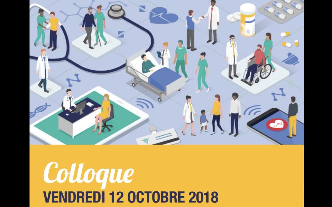 Colloque : «Place de la prévention et de la promotion de la santé dans l'offre de soins» le 12 octobre 2018, à Marseille